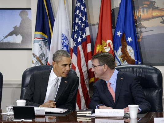 BESTPIX Obama Holds National Security Council Meeting