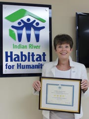 Indian River Habitat for Humanity earned its first