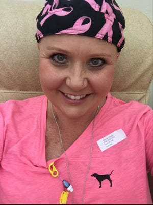 Christy Cantrell was diagnosed with breast cancer one year ago.
