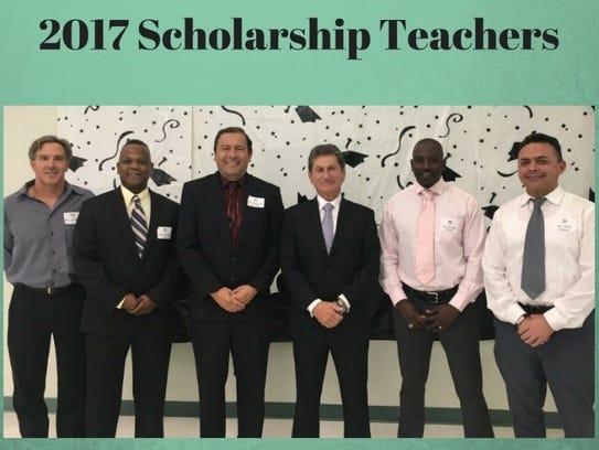 2017 Fetterman & Associates scholarship teachers