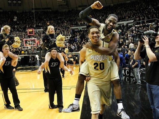 LAF Purdue men's basketball gamer Indiana Jan 28