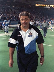 Wayne Fontes won 66 games in the regular season with the Lions, and one game in the playoffs.