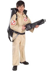 """A kid in a """"Ghostbusters"""" costume is perhaps the safest companion for trick-or-treating. $29.99 at walmart.com."""
