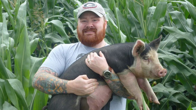 Former Top Chef alum Kevin Gillespie brings his Pure Pork Awesomeness dinner to Proof.