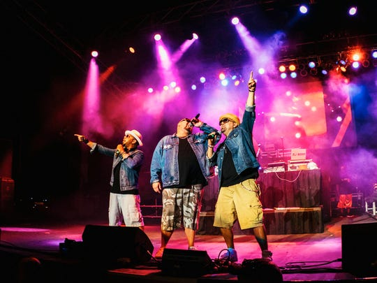 Color Me Badd performing live at the I Love The 90's