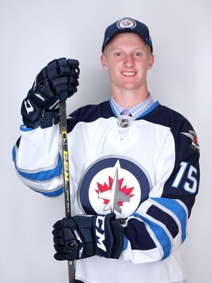 Kyle Connor, selected 17th overall by the Winnipeg Jets in the 2015 NHL draft, is an incoming Michigan freshman and a Shelby Township native.