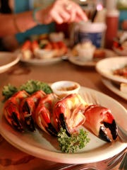 Stone crabs from Pinchers