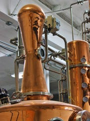 Ruidoso's Glenco Distillery distills their own blend of spirits and liquors at the facility.