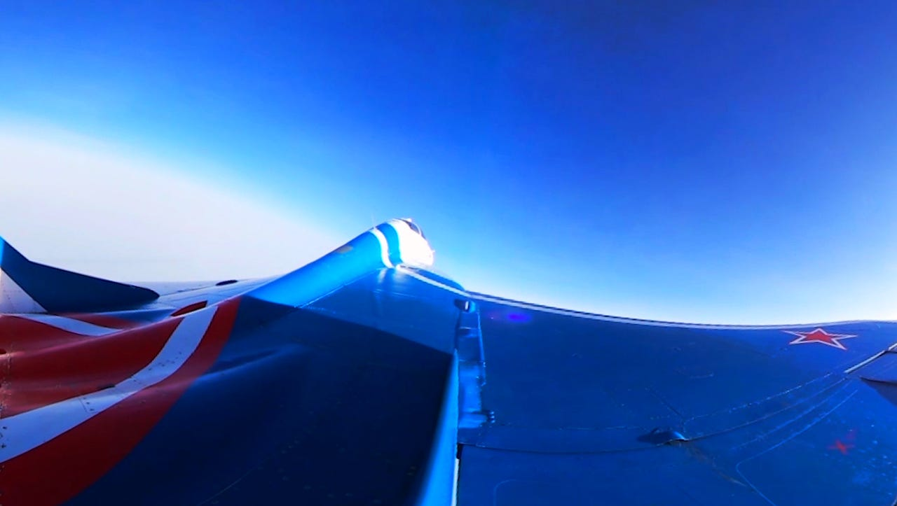 Check out this Soviet-made fighter jet: Rocket to the edge of space