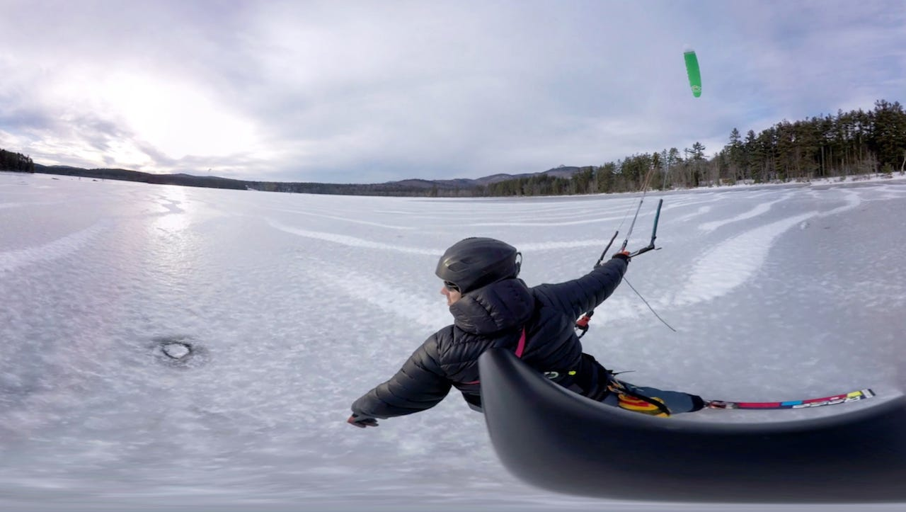 Not your average snow day: Speed across a winter wonderland in VR