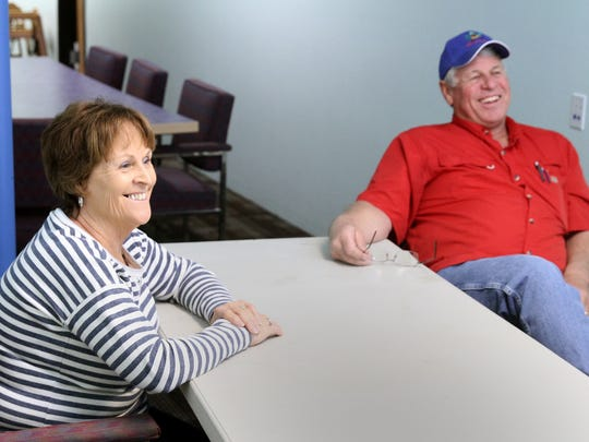 Reida and Ron Baca plan on closing their businesses, Big Bounce and the Teddy Connection, on Wednesday at the Animas Valley Mall.
