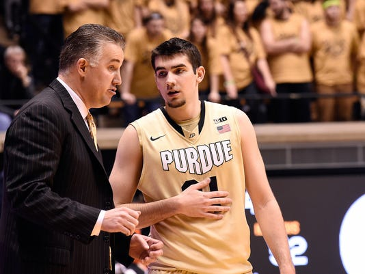 NCAA Basketball: Illinois at Purdue