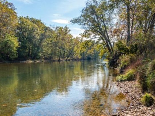 The 4,167-acre Eleven Point State Park remains closed,