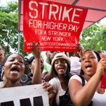 Low-paid workers are marching for equality