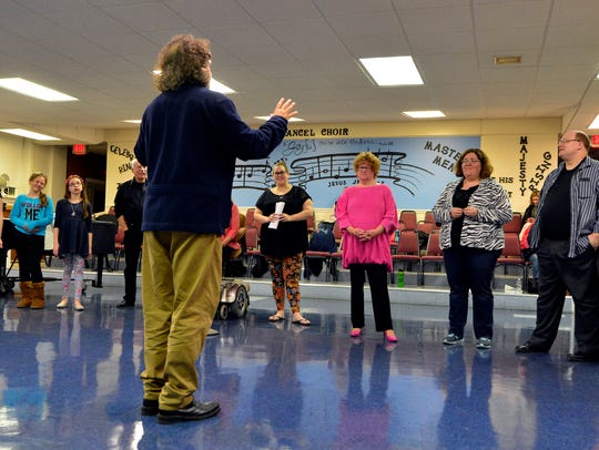 """Director Rodd Robertson leads the cast of """"Flippin"""