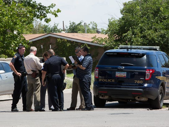 Las Cruces police respond to the 1600 block of Rio