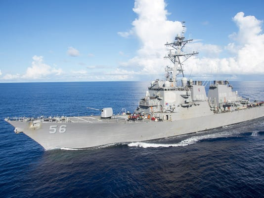 EPA AT SEA USA DEFENSE USS JOHN S. MCCAIN POL UNCLASSIFIED DEFENCE --- SO