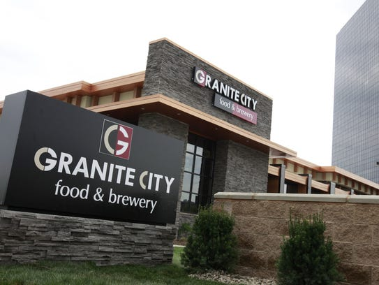 The new Granite City Food & Brewery sits on West Big