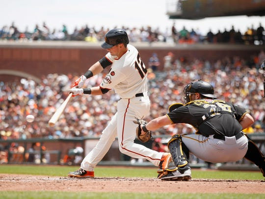 San Francisco Giants second baseman Joe Panik is a National League All-Star in his second season.