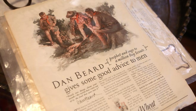 Dan Beard never passed up an opportunity to give advice. As founder of the Sons of Daniel Boone, which merged with the Boy Scouts of America when the latter formed in 1910, Beard had a pioneering spirit and loved to share it. He was a prolific writer, publishing many books and magazine articles, including this, one of many pieces in a collection belonging to Marc Hult, who lives in Beard's childhood Covington home.