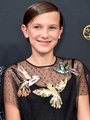 Millie Bobby Brown, 13, earned Emmy and Screen Actors Guild awards nominations for her 'Stranger Things' turn.