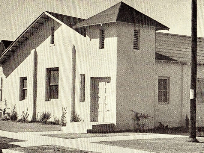 Beth El Synagogue at Fillmore and Fourth streets, 1930s
