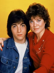 "Scott Baio and Erin Moran in the 1983 television series ""Joanie Loves Chachi."""