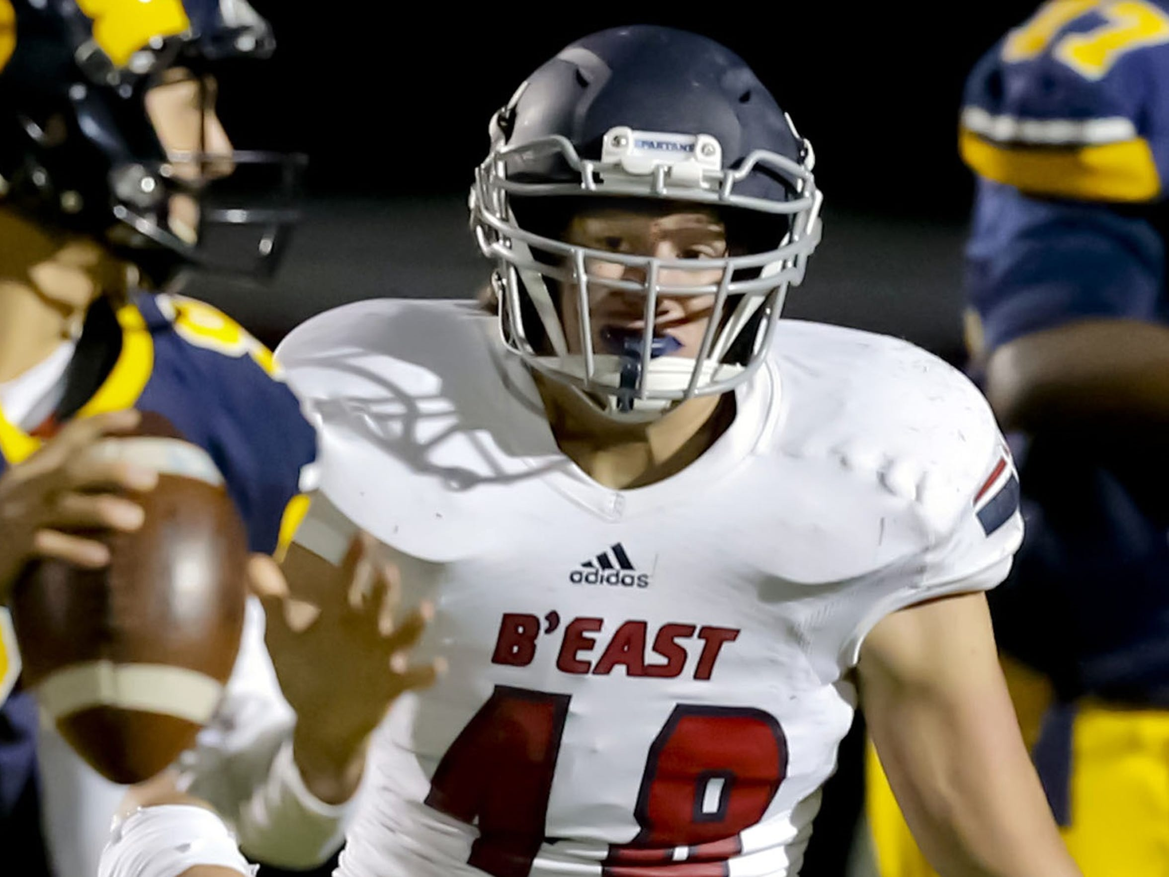 Bradley Dati and the Brookfield East defense had five shutouts in 12 games this season. The Spartans allowed just 9.7 points per game.
