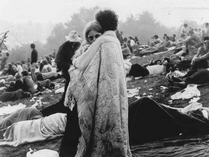 Woodstock Festival took place 45 years ago this week. Woodstock, which actually took place in Bethel, N.Y., on Aug. 15-18, 1969.
