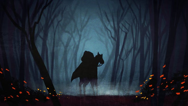"Fox TV drama ""Sleepy Hollow"" is loosely based on ""The Legend of Sleepy Hollow."""