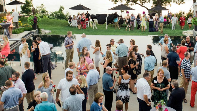 Dairy Cares has raised $847,000 for Children's Hospital of Wisconsin over the past seven years. The group's signature event is an annual garden party.