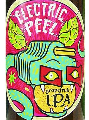 Electric Peel, from Magic Hat Brewing Co. in South Burlington, Vt., is 6% ABV.