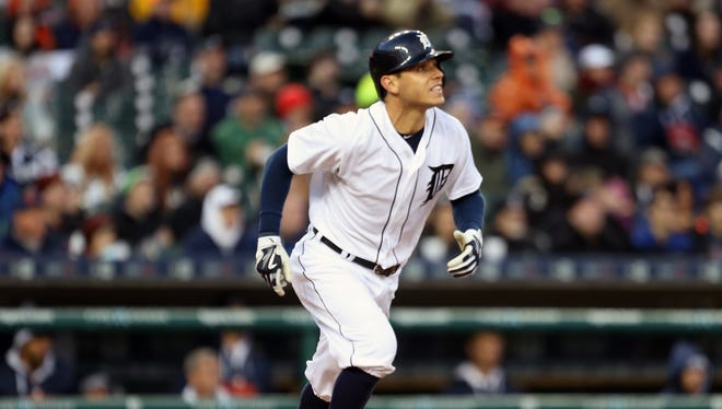 Tigers second baseman Ian Kinsler
