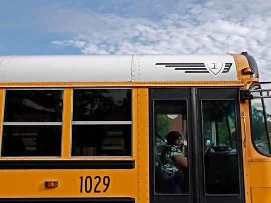 A Leon County School bus.