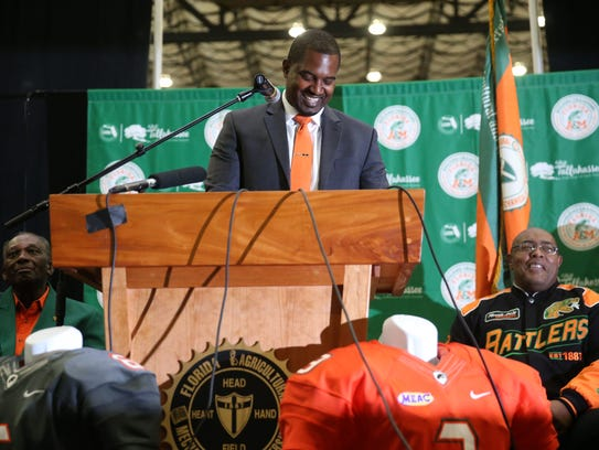 FAMU's new Head Football Coach Willie Simmons speaks