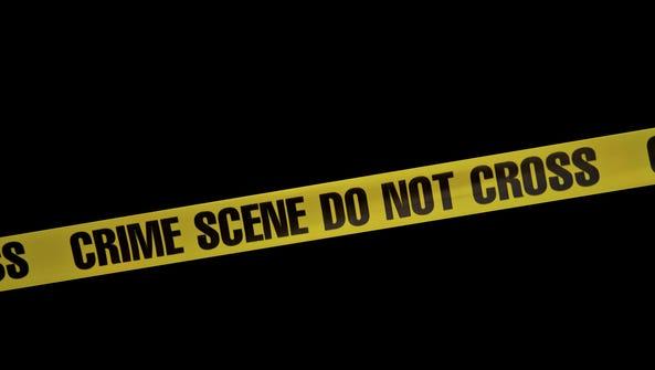 Stock image of crime scene.