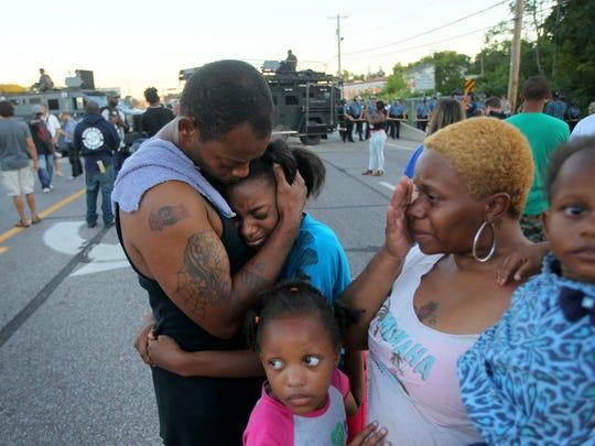 AP APTOPIX Police Shooting Missouri
