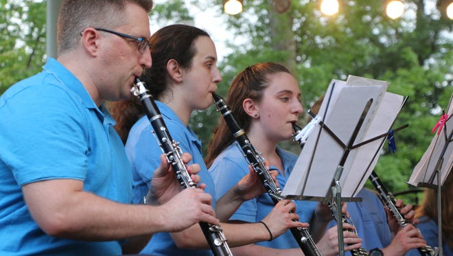 The Westfield Community Concert Band will perform on July 20.