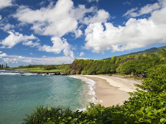 This undated photo provided by Travaasa Hana shows Hamoa Beach, in Maui, Hawaii. The beach was listed as No. 4 on the 2015 list of best beaches.