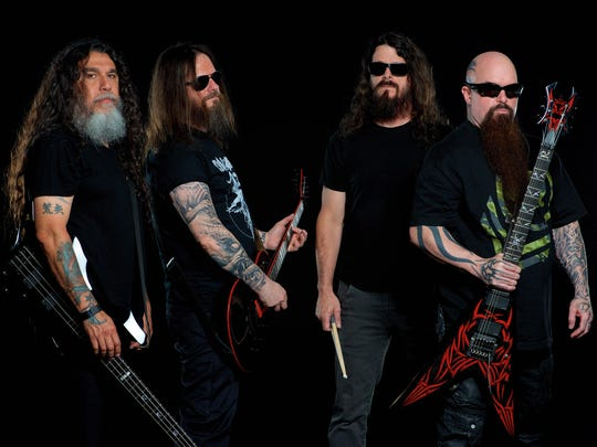 """Slayer will release its 11th album, """"Repentless,"""" on Sept. 11."""