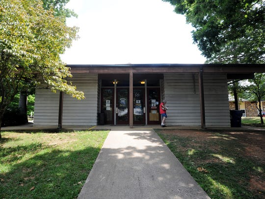 The East Asheville library is home to regular children's programs as well as resources for the community but the building is in need of renovation or expansion.