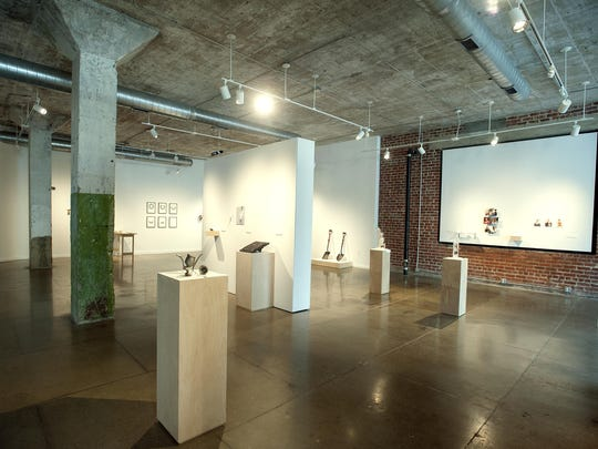 """The """"Moved by Metal: Interaction as Beauty"""" exhibit at the Center for Craft, Creativity & Design will be on display until Aug. 22 with a visit from artist Nick Dong, a conceptual metalsmith, from Aug. 11 through Aug. 22."""