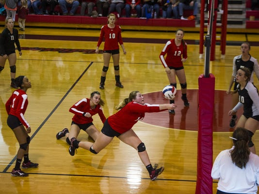 Radford at Riverheads volleyball