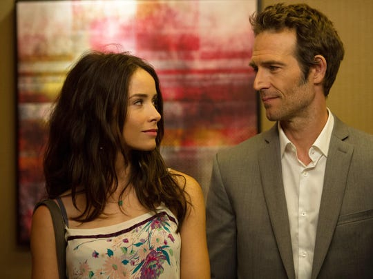 """Gulf Breeze native Abigail Spencer, left, appears with Michael Vartan in a scene from """"Rectify."""" The final series of the Sundance drama premieres Oct. 26."""