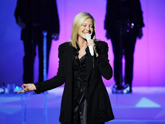 Olivia Newton-John, pictured in 2014, has upcoming performances in Red Bank and Morristown.