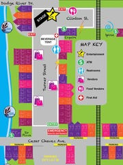 Michigan Pride map