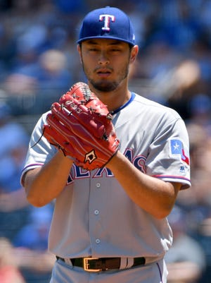 Yu Darvish is 6-9 with a 4.01 ERA in 2017.