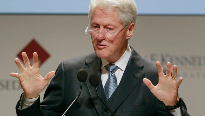 Bill Clinton is scheduled to speak at Lansing's Local UAW 652 Sunday afternoon. Doors open at noon and the event is scheduled to run until 2 p.m., according to Hillary Clinton's campaign website.