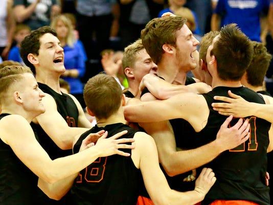 Northeastern vs Beaver County Christian PIAA Boys' Volleyball Championship