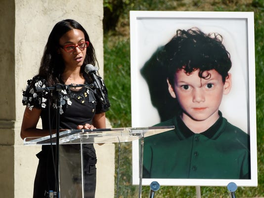AP ANTON YELCHIN LIFE CELEBRATION AND STATUE UNVEILING CEREMONY A ENT USA CA